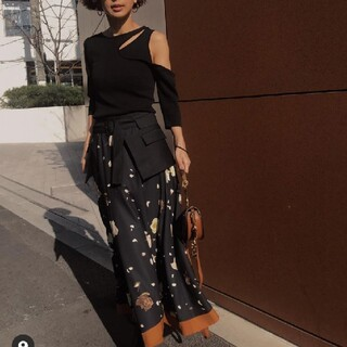 Ameri VINTAGE - Ameri vintage花柄スカート