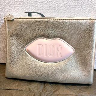 Dior - ディオール ノベルティ ポーチ シルバー フラットポーチ