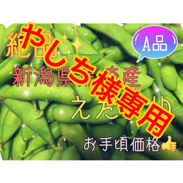 【今年も始まりました!!】新潟県 黒埼産 えだまめ 2kg  A品 食品/飲料/酒の食品(野菜)の商品写真