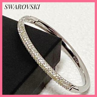 SWAROVSKI - 正規品❗SWAROVSKI バンクル ストラップStoneバングル クリスタル