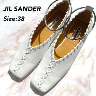 Jil Sander - 希少カラー jilsander ジルサンダー バレリーナ バレエ シューズ 38