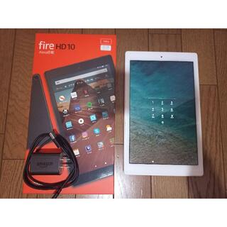 Fire HD 10 (2019年モデル) 第9世代 32GB  ホワイト