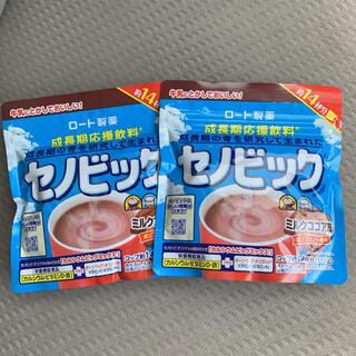 ロートセイヤク(ロート製薬)のセノビック ミルクココア味 112g×2袋セット(その他)