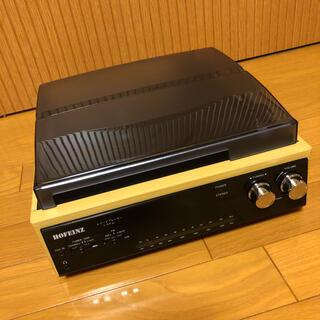 HOFEINZ スピーカー内蔵レコードプレーヤー/AM FM/カセットテープ