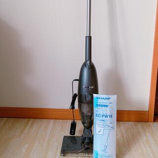 シャープ(SHARP)の新品未使用 ec-fw18 SHARP コードレスワイパー(掃除機)