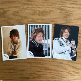 カトゥーン(KAT-TUN)の亀梨和也 KAT-TUN 公式写真 3枚セット(アイドルグッズ)