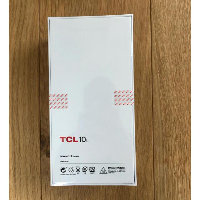 ANDROID(アンドロイド)の  TCL - 10 Lite simフリースマートフォン ブルー スマホ/家電/カメラのスマートフォン/携帯電話(スマートフォン本体)の商品写真