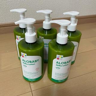 アカチャンホンポ(アカチャンホンポ)の新品 アロベビー ALOBABY 5本セット(ベビーローション)