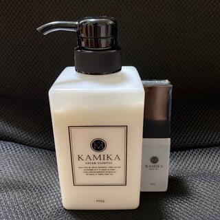 カミカ 黒髪クリームシャンプー KAMIKA +ヘアオイル