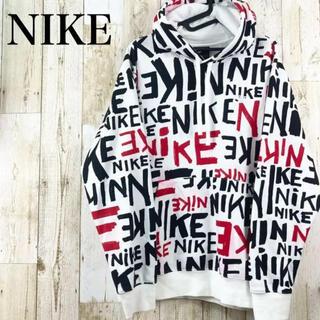 NIKE - ナイキ NIKE プルオーバー 総柄パーカー  XL