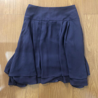 アナトリエ(anatelier)のAnatelier    シフォンスカート(ひざ丈スカート)