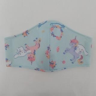 y1番 「ハンドメイド」 夏用 幼児用 立体 インナーマスク(その他)