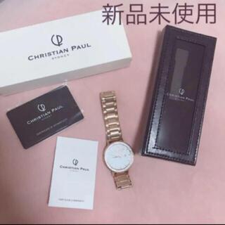CHRISTIAN PEAU - 半額セール✨【新品】Christian Paul♡クリスチャンポール♡腕時計