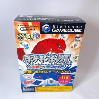 ニンテンドーゲームキューブ - 新品 ポケモンボックス ルビー&サファイア お買い得GBAケーブルパック