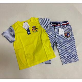 mikihouse - ミキハウス 110センチ Tシャツ、パンツセット 新品