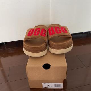 UGG - ugg 厚底 サンダル
