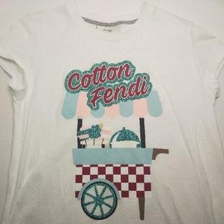フェンディ(FENDI)の値下げ FENDI キッズ Tシャツ(Tシャツ/カットソー)