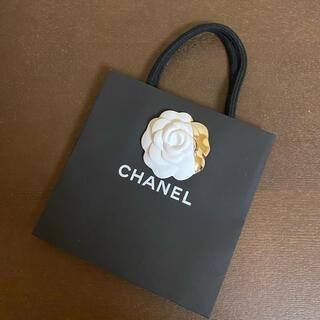 シャネル(CHANEL)の美品☆ カメリア付きシャネルミニショップ袋(ショップ袋)