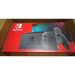 Nintendo Switch - [新品] ニンテンドー スイッチ Switch (グレー) 本体