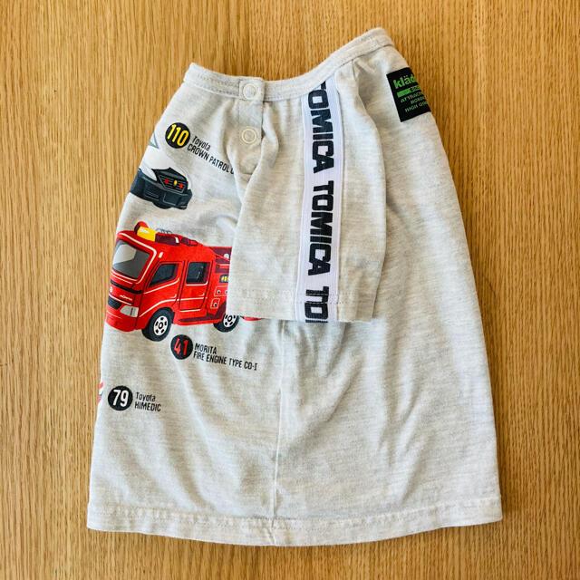 kladskap(クレードスコープ)のはたらく自動車Tシャツ キッズ/ベビー/マタニティのキッズ服男の子用(90cm~)(Tシャツ/カットソー)の商品写真