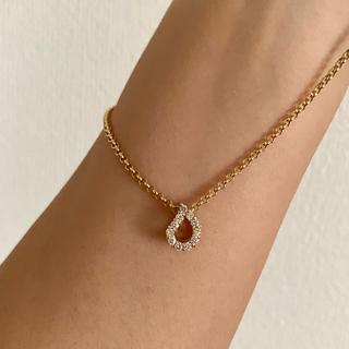 4℃ - ルジアダ K18  イエローゴールド ダイヤモンド ネックレス