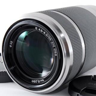 ソニー(SONY)の9月28日限定【美品】SONY ソニー 望遠レンズ E55-210mm  OSS(レンズ(ズーム))