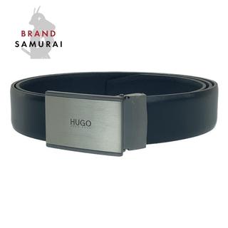 ヒューゴボス(HUGO BOSS)のHUGO BOSS ヒューゴボス レザー ベルト 104477(ベルト)