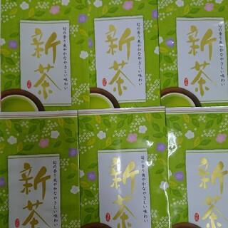 2020年度 静岡県産 深蒸し茶 100g6袋静岡茶(茶)