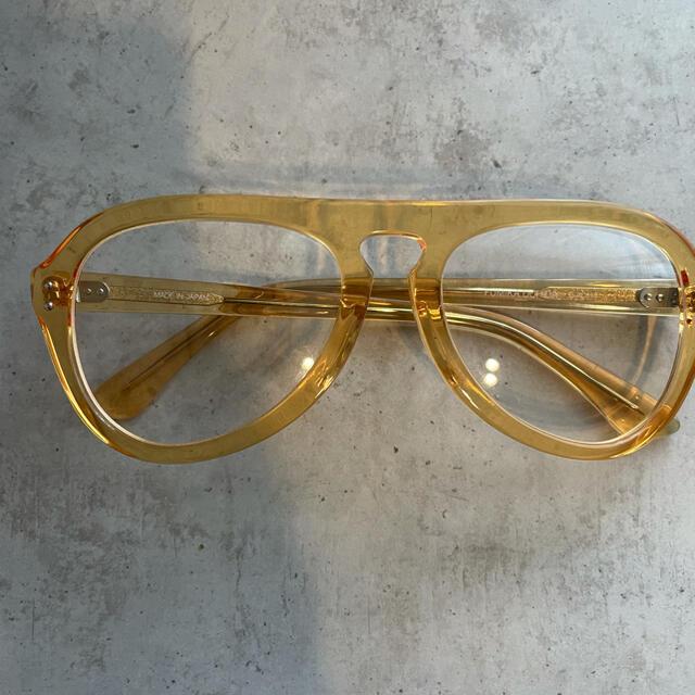 フミカウチダ メガネ 袋あり レディースのファッション小物(サングラス/メガネ)の商品写真