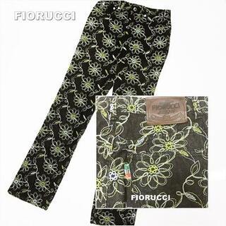 Fiorucci - 【FIORUCCI】フィオルッチ Embroidery 刺繍総柄 デニム
