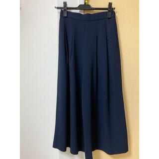 M-premier - 今期美品♡M-premier Blackクロップドワイドパンツ・紺♡32P
