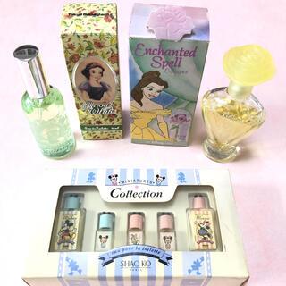 ディズニー(Disney)のディズニー* 香水セット スノーホワイト、ベル、ミッキー、ミニー(香水(女性用))