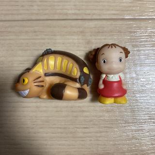 ジブリ(ジブリ)のとなりのトトロ 人形 メイちゃん ねこバス ソフビパペット(キャラクターグッズ)