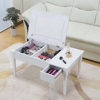 ドレッサー コスメテーブル 化粧 センターテーブル(ローテーブル)