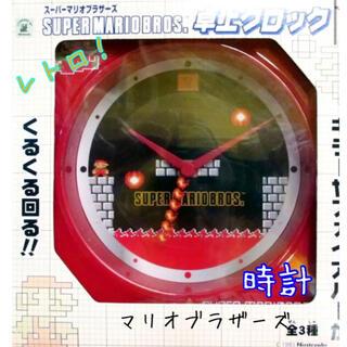 BANPRESTO - バンプレスト スーパーマリオブラザーズ 卓上クロック マリオ時計 レトロ