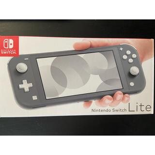 ニンテンドースイッチ(Nintendo Switch)のニンテンドー スイッチライト本体 グレー(家庭用ゲーム機本体)