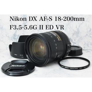 ニコン(Nikon)の純正高倍率レンズ●手振れ補正●ニコン AF-S 18-200mm VR II(レンズ(ズーム))