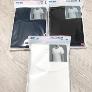 UNIQLO - 新品未開封 ユニクロ エアリズムTシャツ  レディース L