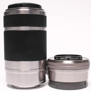 SONY - 【新品級】SONY PZ16-50mm & E55-210mm