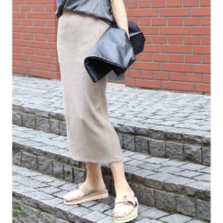 ドゥーズィエムクラス(DEUXIEME CLASSE)のDeuxieme Classe 【AMERICANA】THERMAL skirt(ロングスカート)