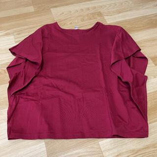 ユニクロ(UNIQLO)のユニクロカットソー Tシャツ☆未使用(カットソー(半袖/袖なし))