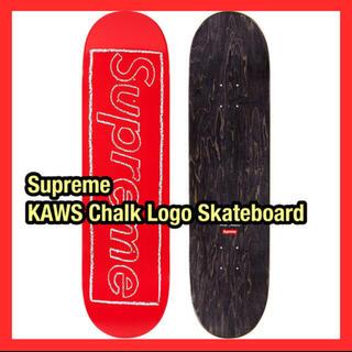 Supreme - Supreme  KAWS Chalk Logo Skateboard