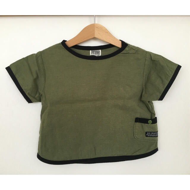 F.O.KIDS(エフオーキッズ)の80 エフオーキッズ 半袖 トップス  キッズ/ベビー/マタニティのベビー服(~85cm)(Tシャツ)の商品写真