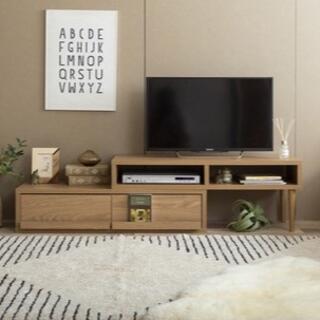 TVボード スライドAVボード(ローテーブル)