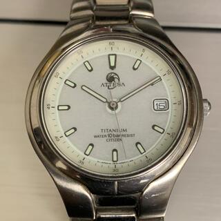 シチズン(CITIZEN)のシチズン アテッサ 電波ソーラー チタンモデル(腕時計(アナログ))