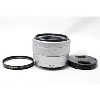 フジフイルム(富士フイルム)のFUJIFILM XC 15-45mm F3.5-5.6 OIS PZ シルバー(レンズ(ズーム))