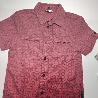 ARMANI JUNIOR - ARMANIJr 赤い半袖シャツ