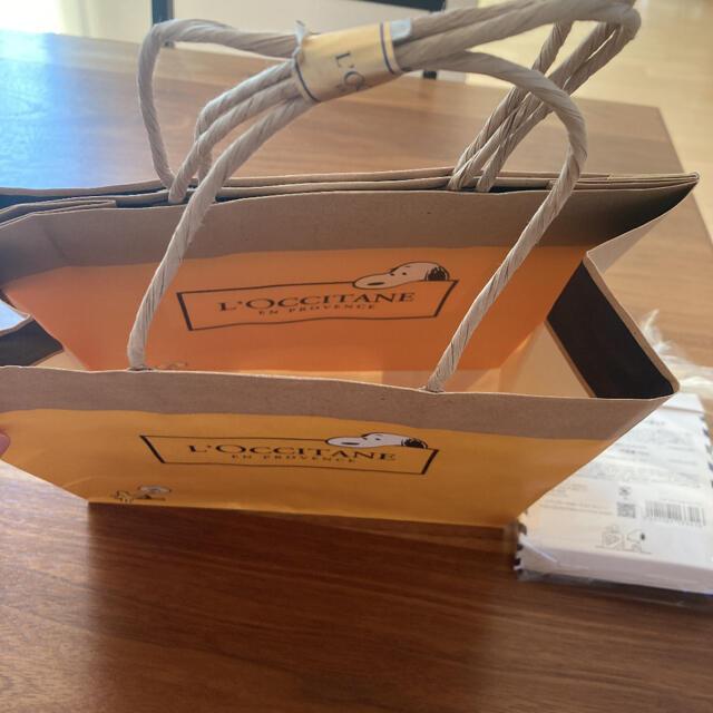 L'OCCITANE(ロクシタン)のSNOOPY シアベストセラーキット SHモイスチャーミルク スヌーピー コスメ/美容のボディケア(ボディローション/ミルク)の商品写真