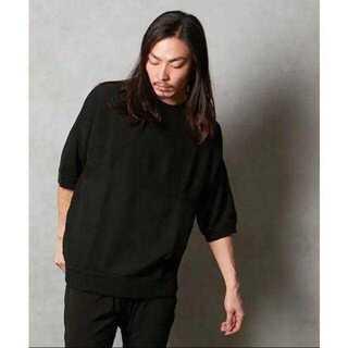 ハレ(HARE)の編切替コクーン サマーニット(Tシャツ/カットソー(半袖/袖なし))