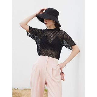eimy istoire - 新品未使用♡eimyistoire ES monogram シアーTシャツ